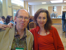 Colin Tommis and Fiona Harrison